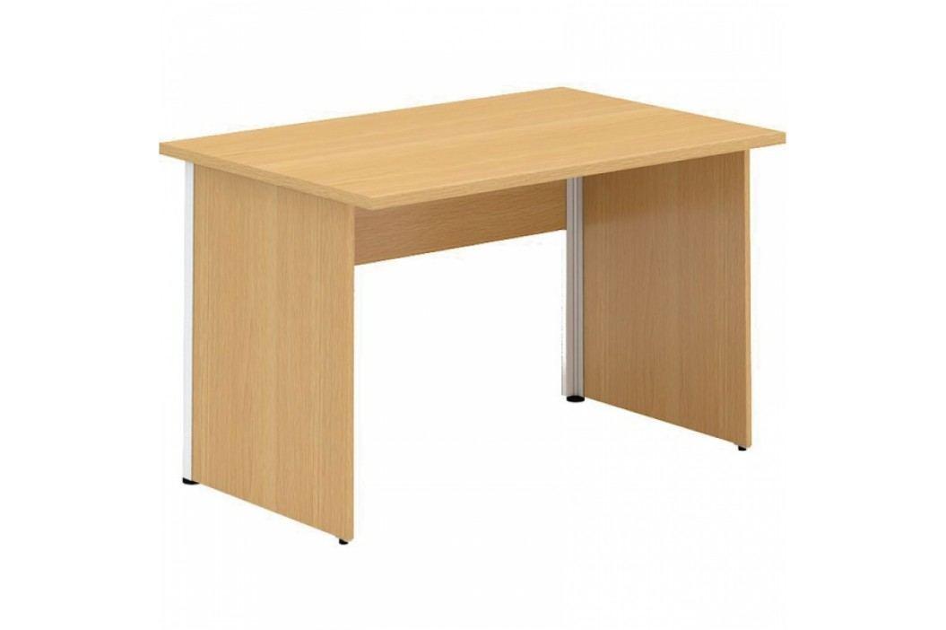 Interier Říčany Alfa 100 stůl kancelářský 101 ořech
