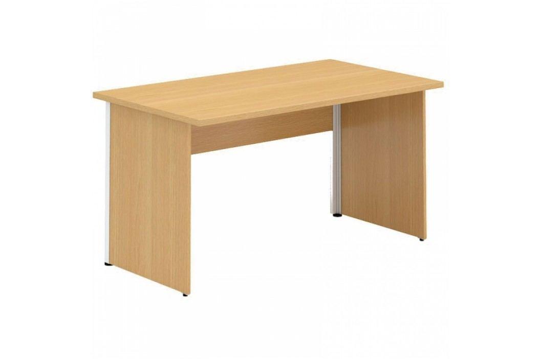 Interier Říčany Alfa 100 stůl kancelářský 102 ořech
