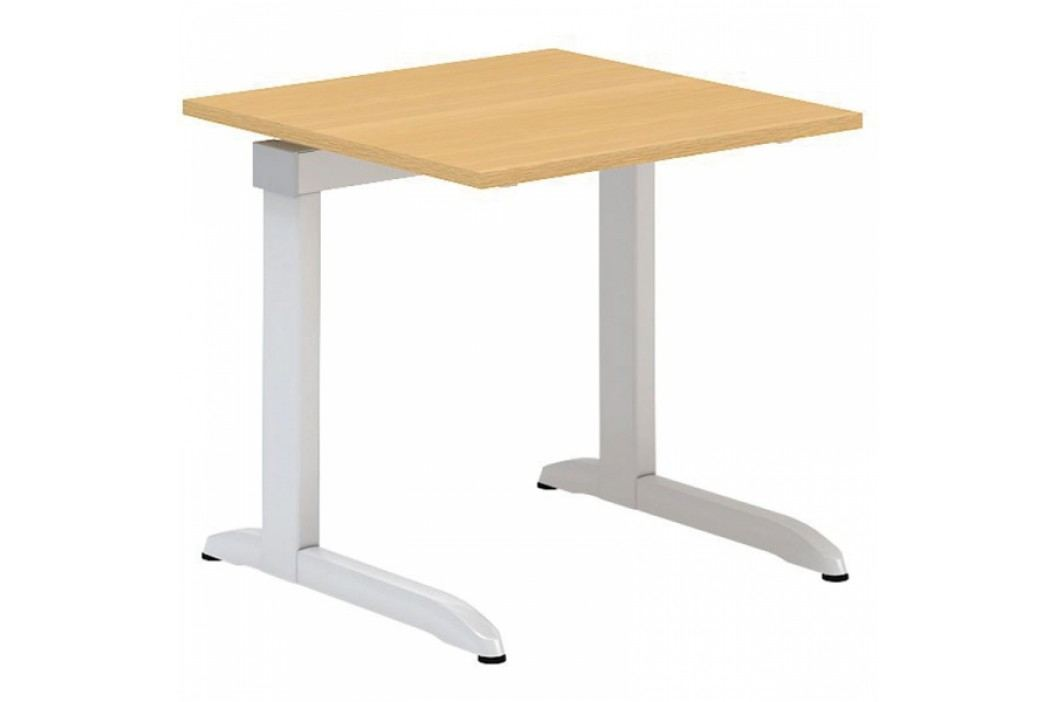 Interier Říčany Alfa 300 kancelářský stůl 300 - 800 x 800 ořech