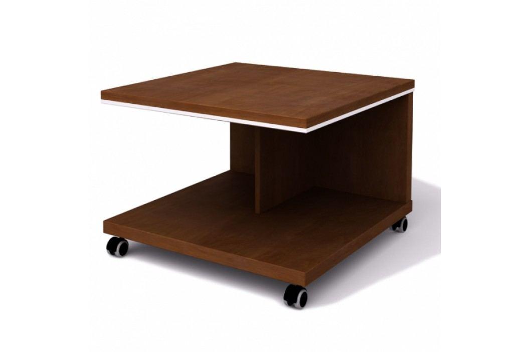 Lenza mobilní jednací stůl Wels 70 cm višeň