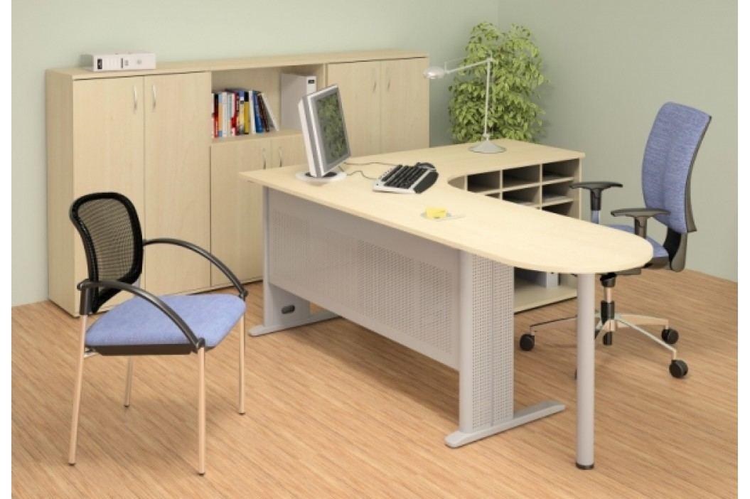 Kancelářský nábytek sestava Impress 5 hruška