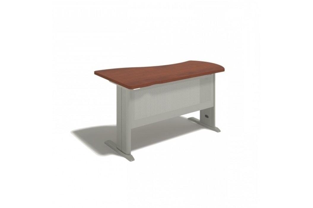Ergonomický stůl Manager, pravý 160 x 100 cm bříza