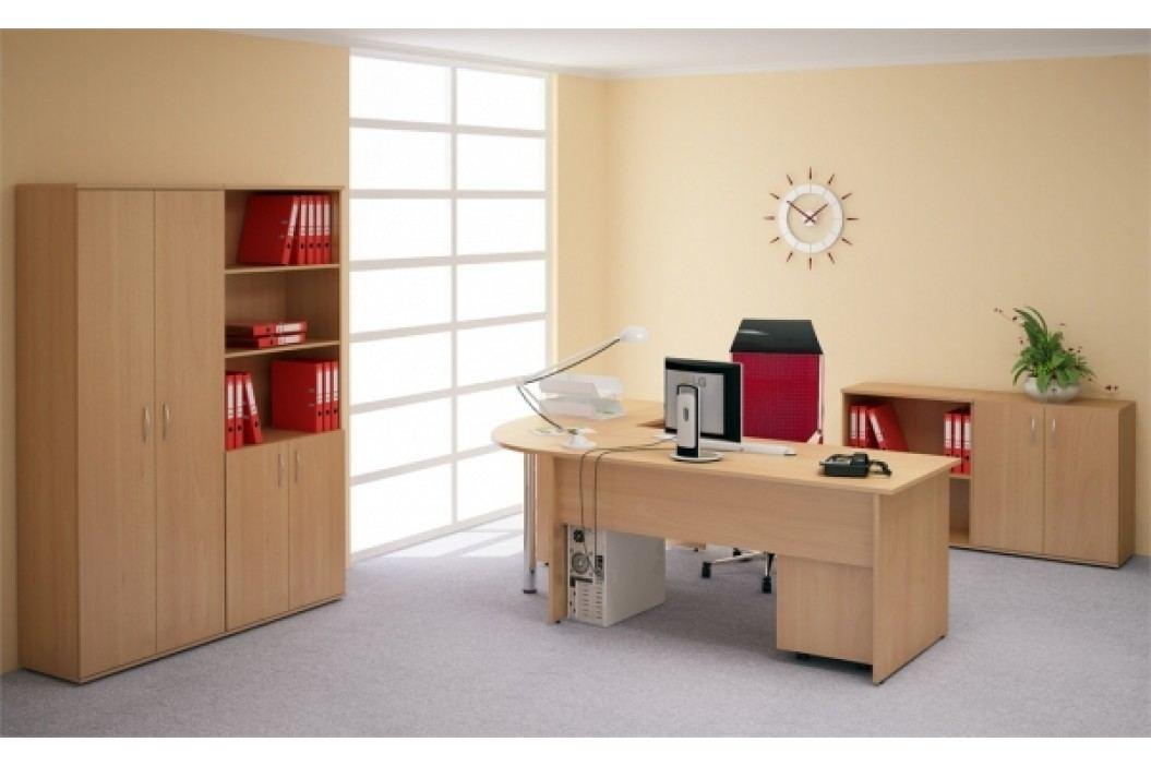 Kancelářský nábytek sestava Impress 1 PLUS hruška aroso