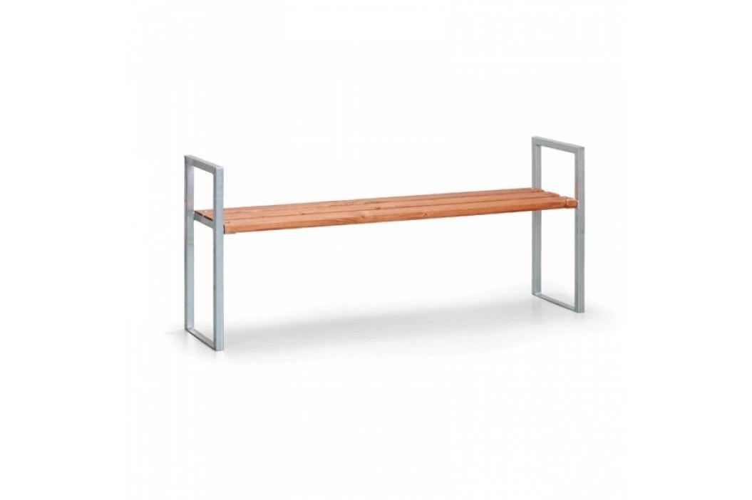 Venkovní lavička Trento 1m