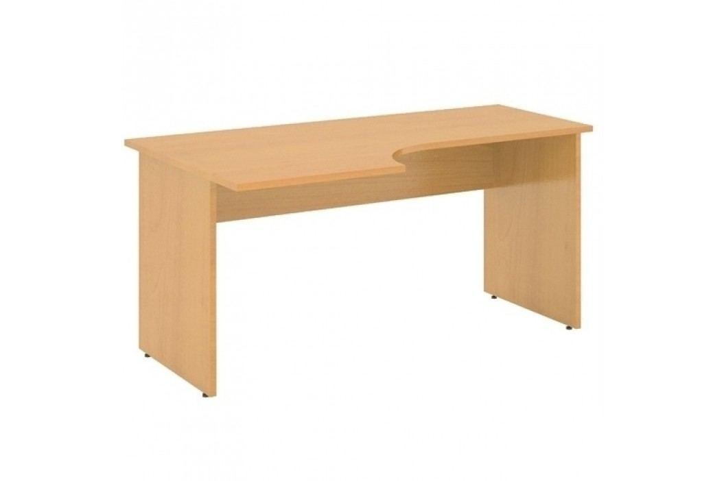 Lenza Ergonomický stůl Express 120 x 90 cm, levý hruška aroso