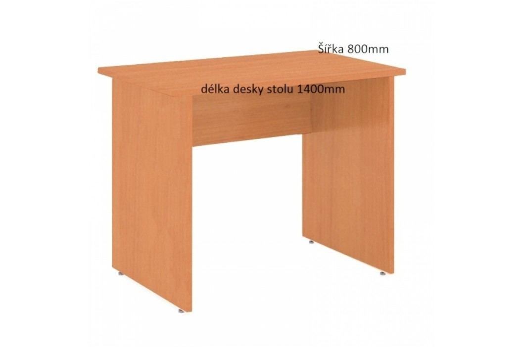 Stůl Praktik 140 x 80 cm hruška