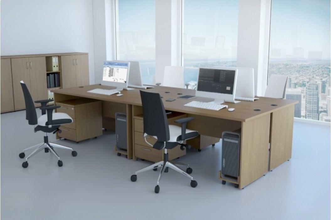 Rauman Sestava kancelářského nábytku Visio 1 calvados