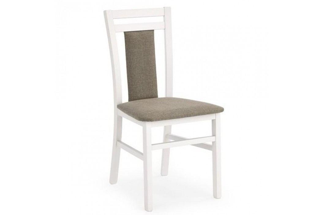 HALMAR Jídelní židle Hubert 8 bílá
