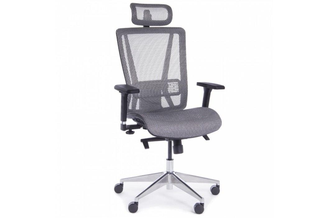 RAUMAN Kancelářská židle Salvador šedá