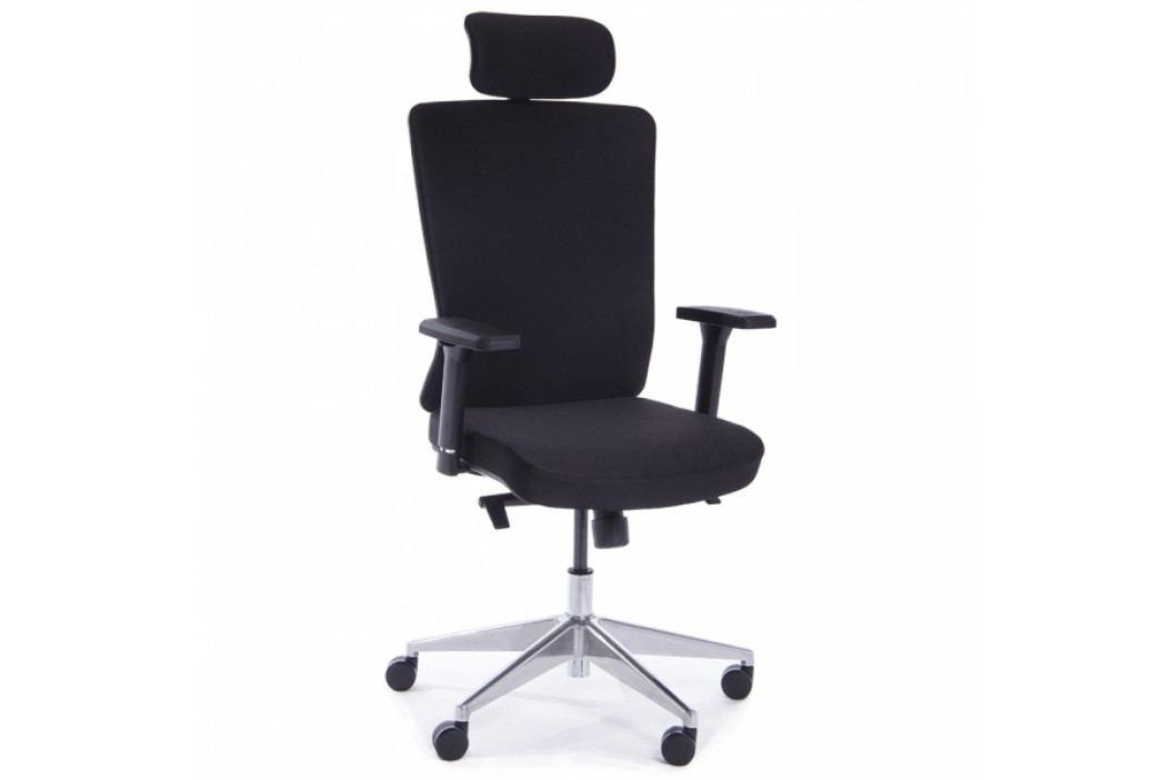 RAUMAN Kancelářská židle Rose černá