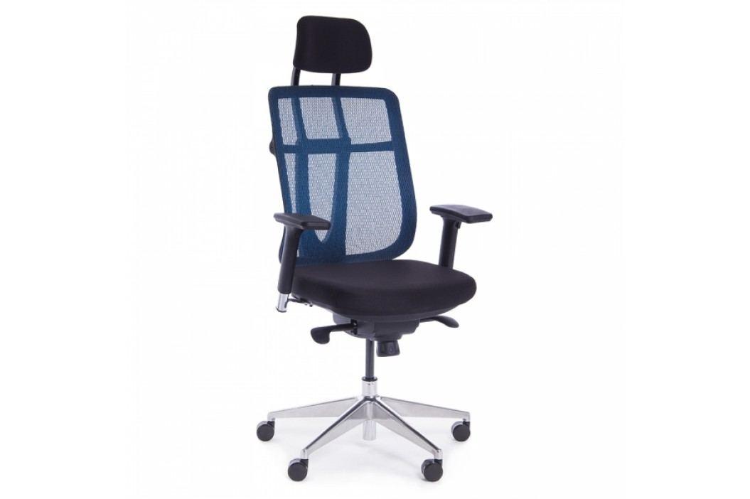 RAUMAN Kancelářská židle Elizabeth modrá