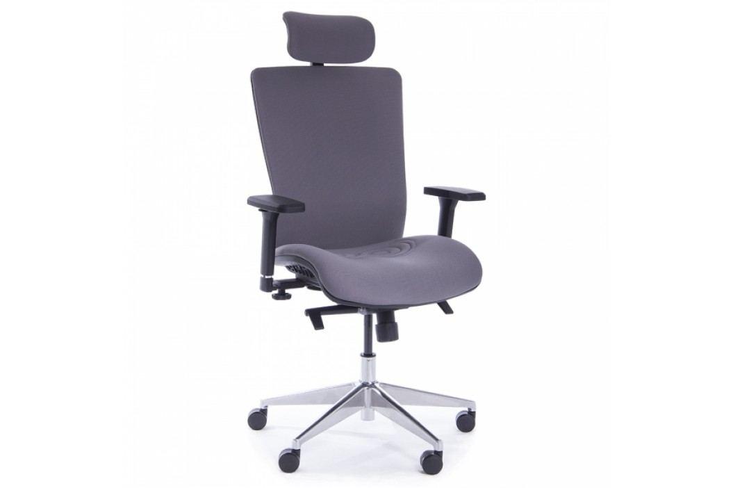 RAUMAN Kancelářská židle Claude šedá