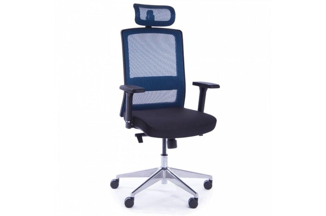 RAUMAN Kancelářská židle Amanda modrá