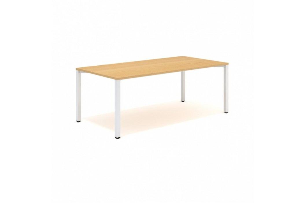 Konferenční stůl ProOffice 120 x 240 x 74,2 cm bílá