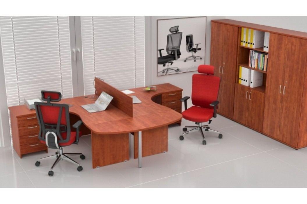 Sestava kancelářského nábytku Visio 12 calvados
