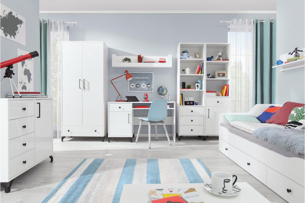 Adrk Dětská postel CASIMO SLŮNĚ se zábranou Adrk 88/63/164