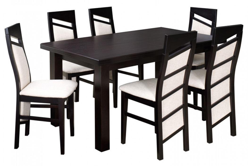 Swierczynski Rozkládací jídelní stůl JOWISZ 125x80 + 40 obrázek inspirace