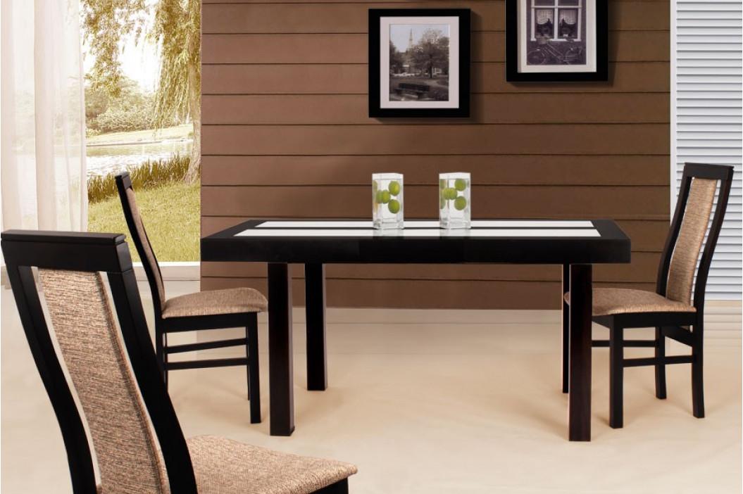 Jídelní stůl WIGGO/120x80+40cm/