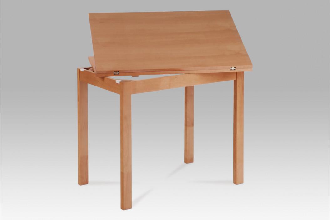Jídelní stůl rozkládací 60+60x90 cm, buk