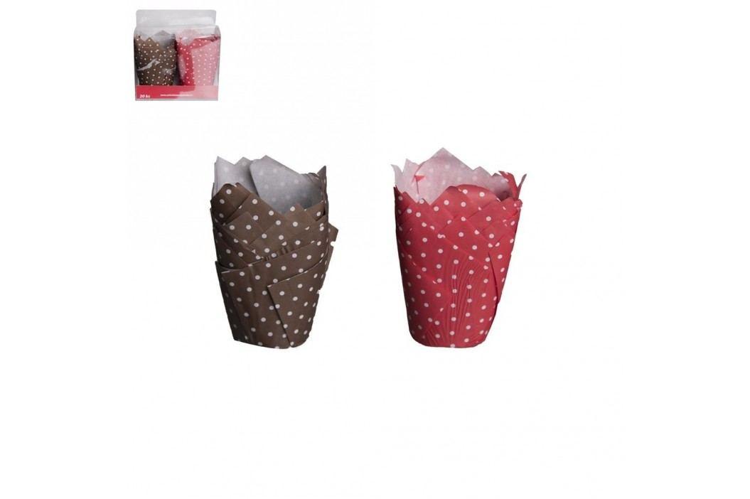 Košík cukrářský papírový LILIE 5 cm 20 ks