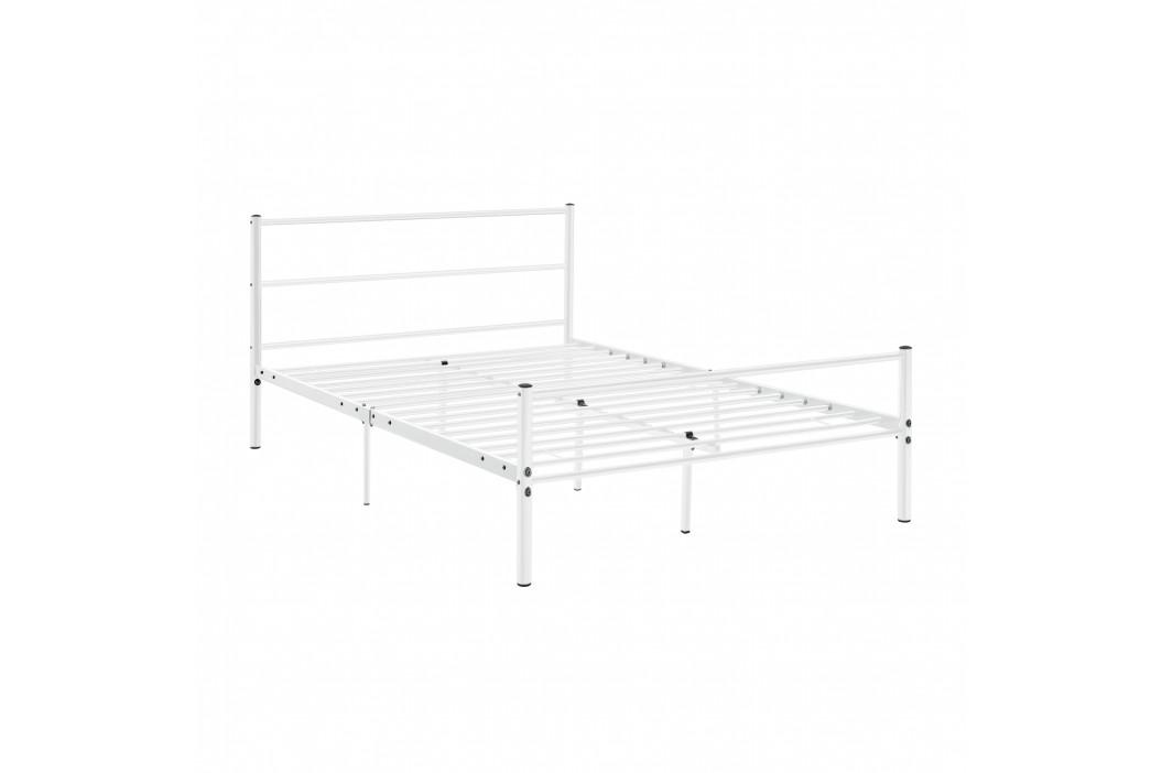 [en.casa]® Kovová postel AADB-1706