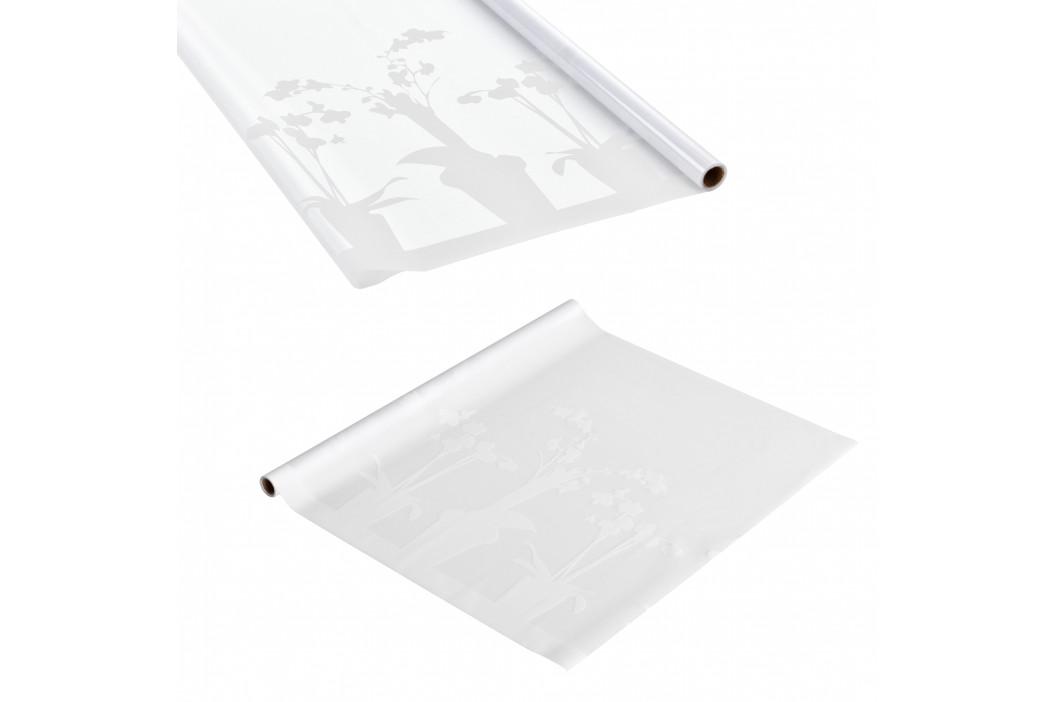 Privátní fólie na sklo - statická - 67,5cmx50m - květinový motiv