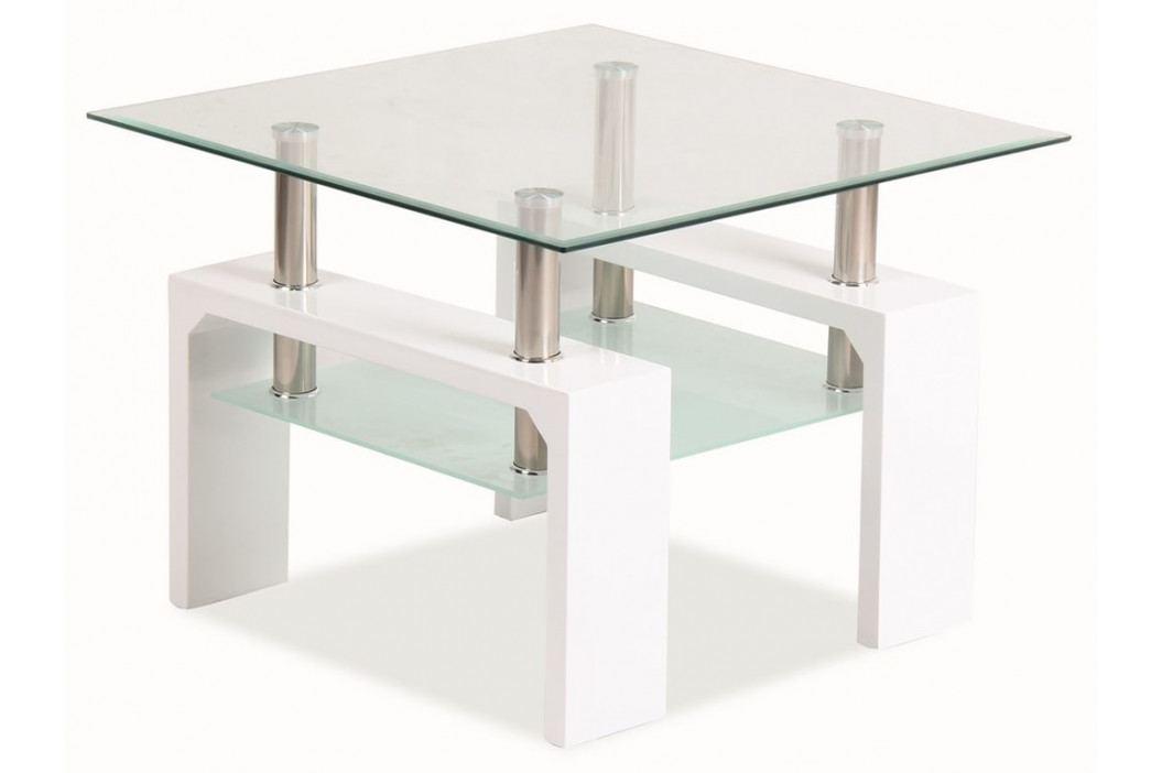 Konferenční stolek LISA D BASIC - bílý obrázek inspirace