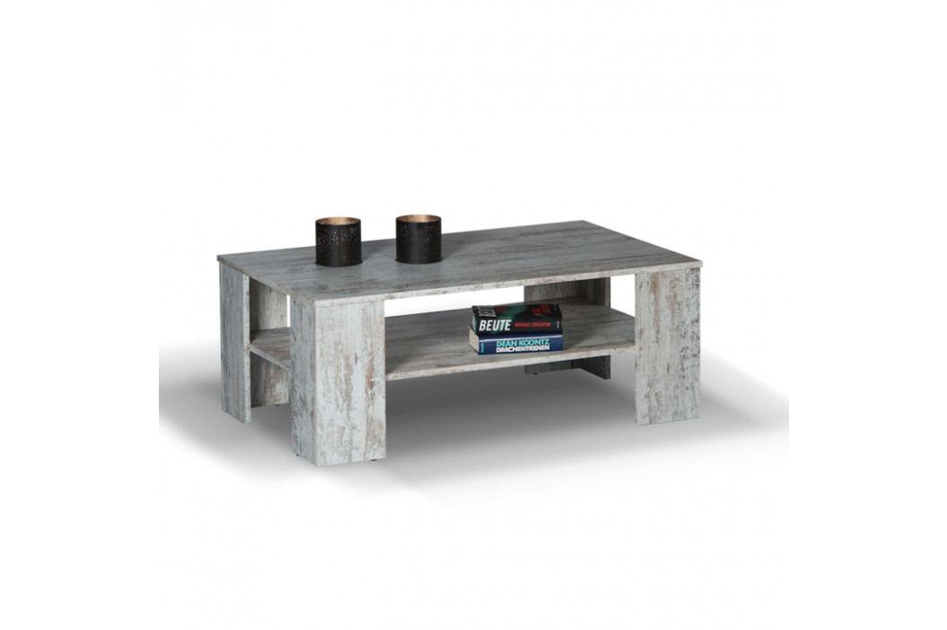 Konferenční stolek, antický dub, HANNA obrázek inspirace