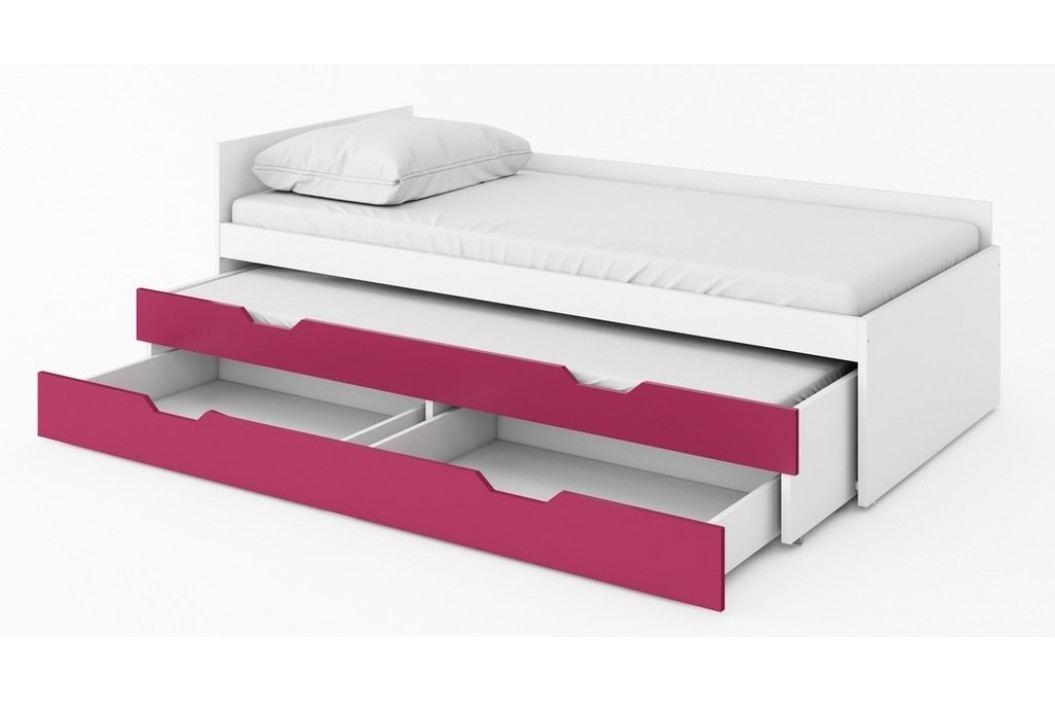 Dolní postel s úložným prostorem ICE IC-20
