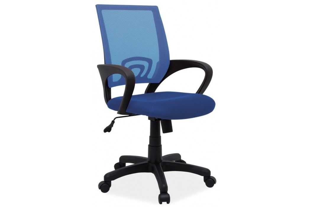 Kancelářská židle Q-148 modrá