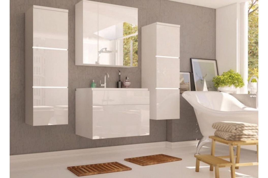 Koupelnová sestava PORTO bílá lesk