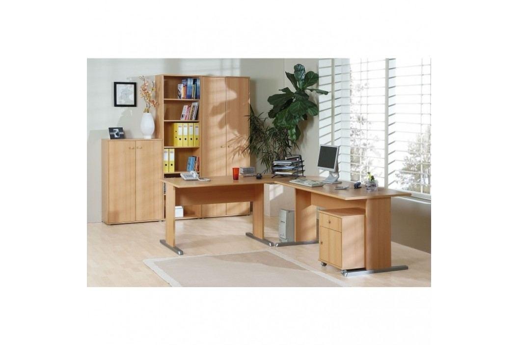 Kancelářský stůl, buk, TEMPRA 12