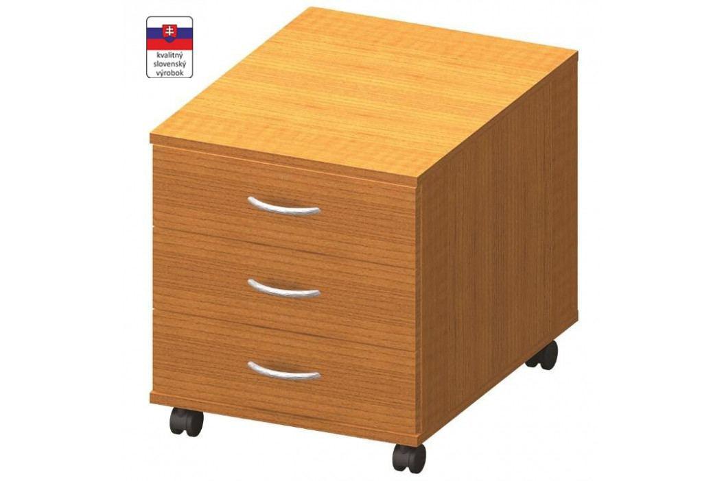 Kontejner 3 zásuvkový, trěšeň, TEMPO AS NEW 016
