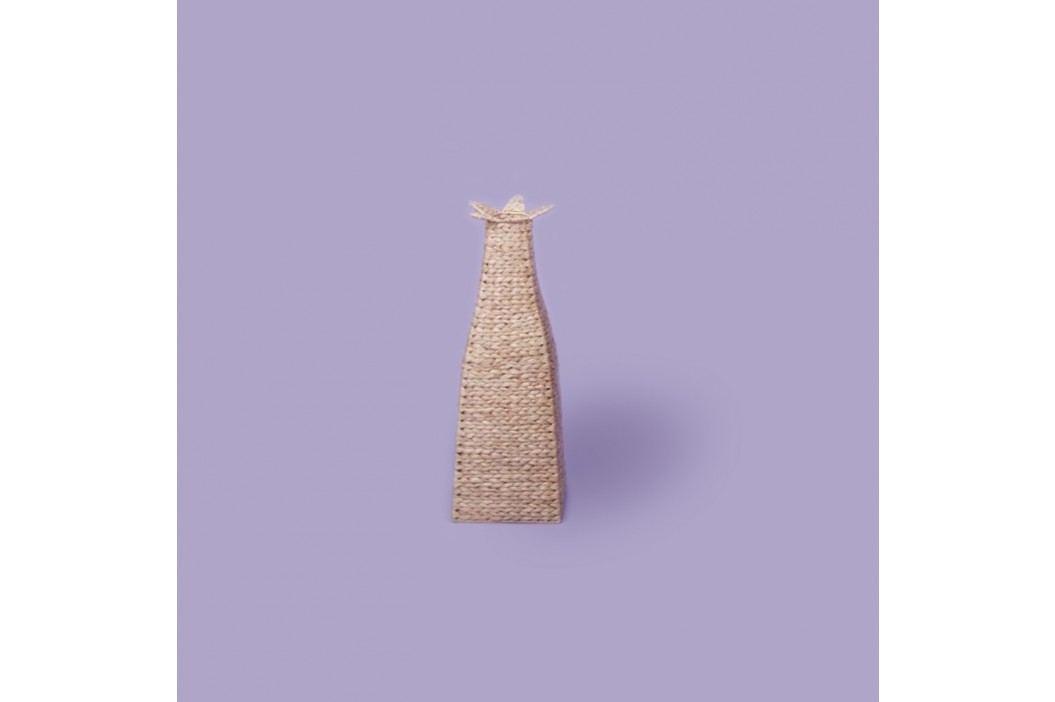 Dekorační obal na vázu bezbarvý lak
