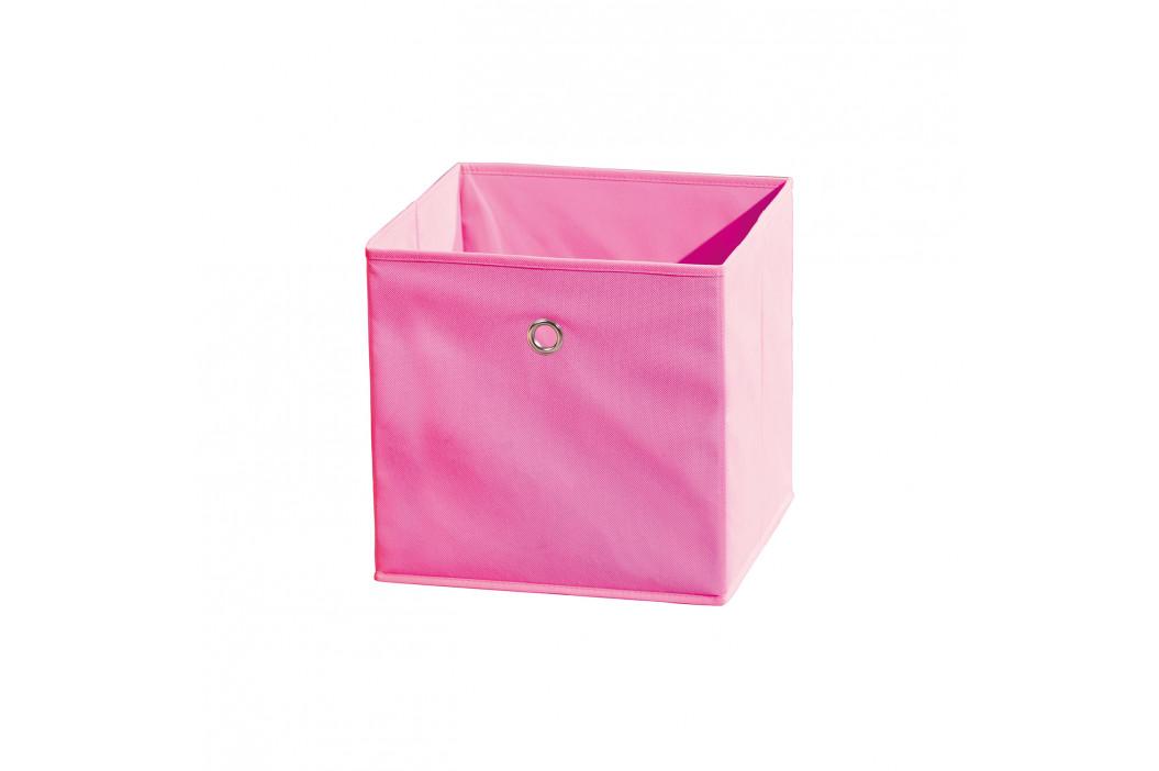WINNY textilní box, růžový