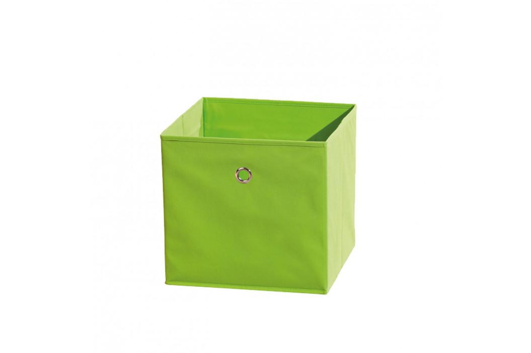 WINNY textilní box, zelený