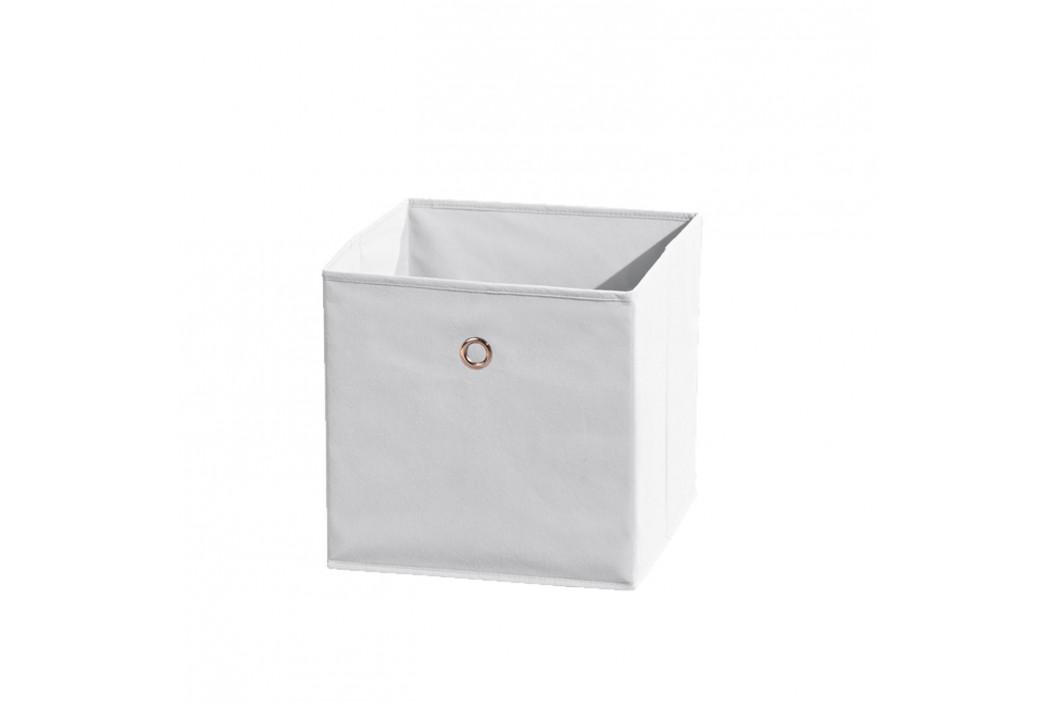 WINNY textilní box, bílý