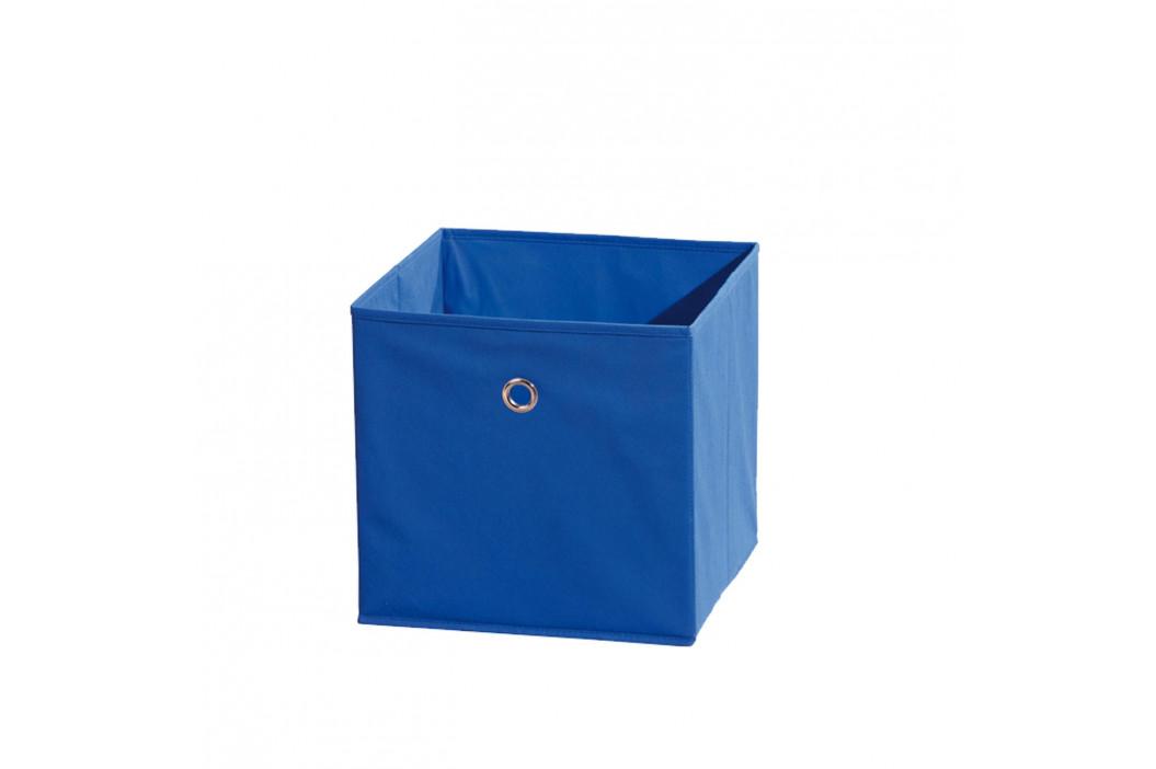 WINNY textilní box, modrý