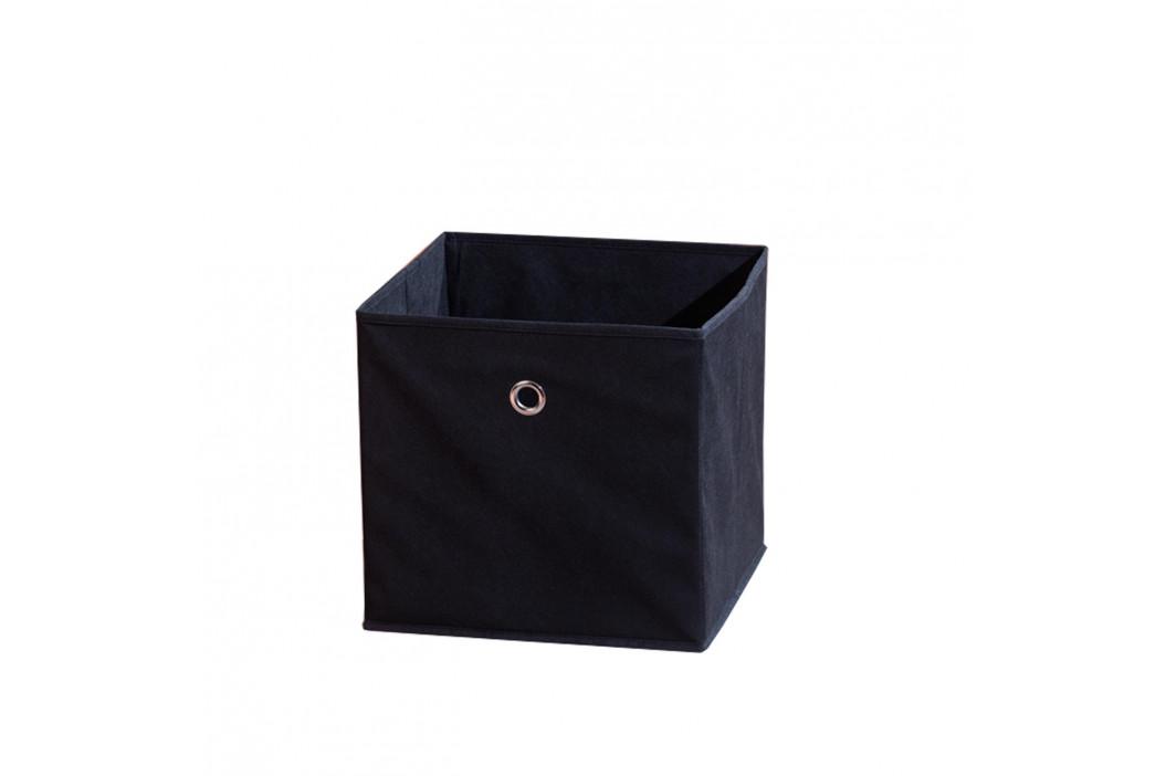 WINNY textilní box, černý