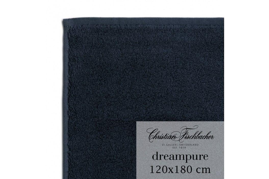 Christian Fischbacher Osuška velká 120 x 180 cm temně modrá Dreampure, Fischbacher