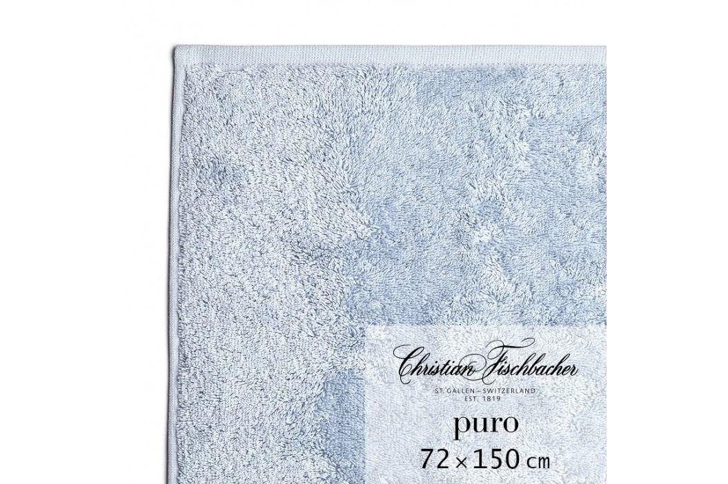 Christian Fischbacher Osuška 72 x 150 cm světle modrá Puro, Fischbacher