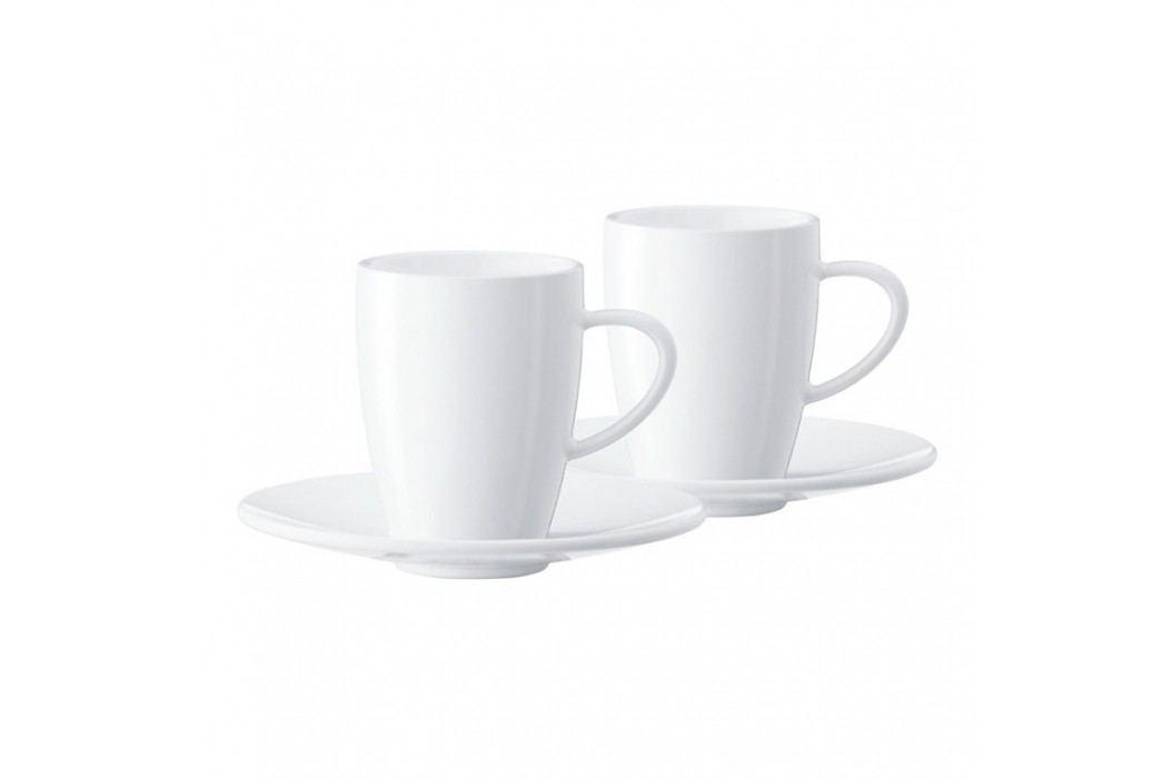JURA Set šálků na espresso s podšálkem