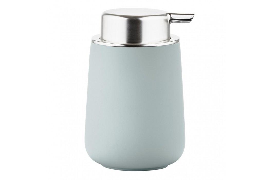 ZONE Dávkovač na mýdlo porcelánový 11,5 cm dusty green NOVA ONE