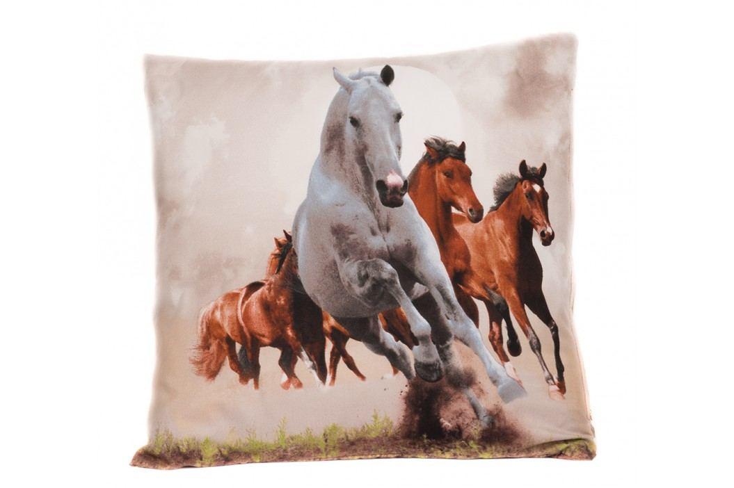 3D povlak 45x45 Divocí koně