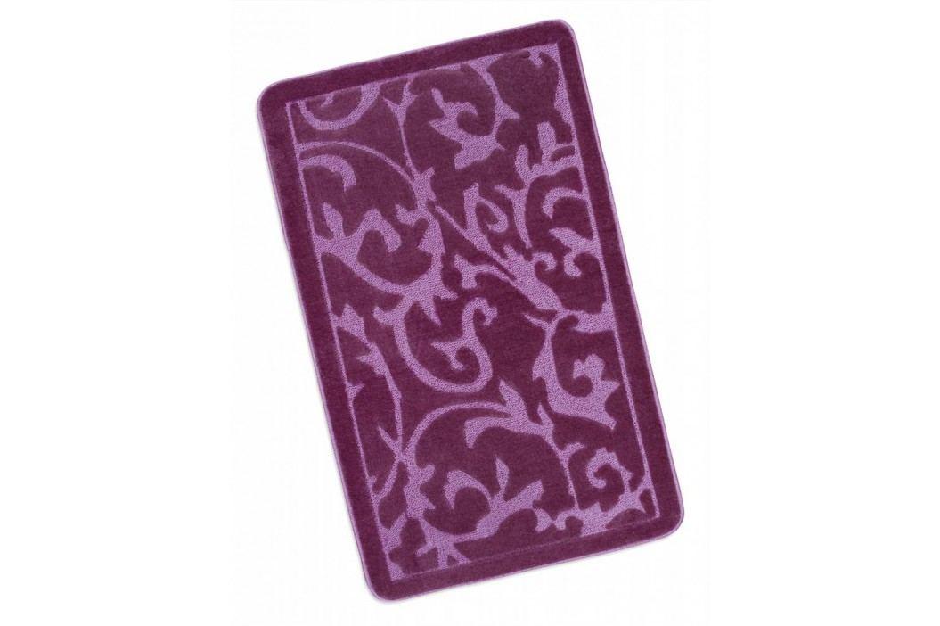 Koupelnová předložka 60x100cm fialový koberec