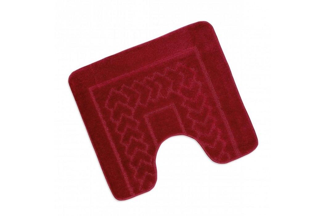 WC předložka 50x60cm červené Bolzáno