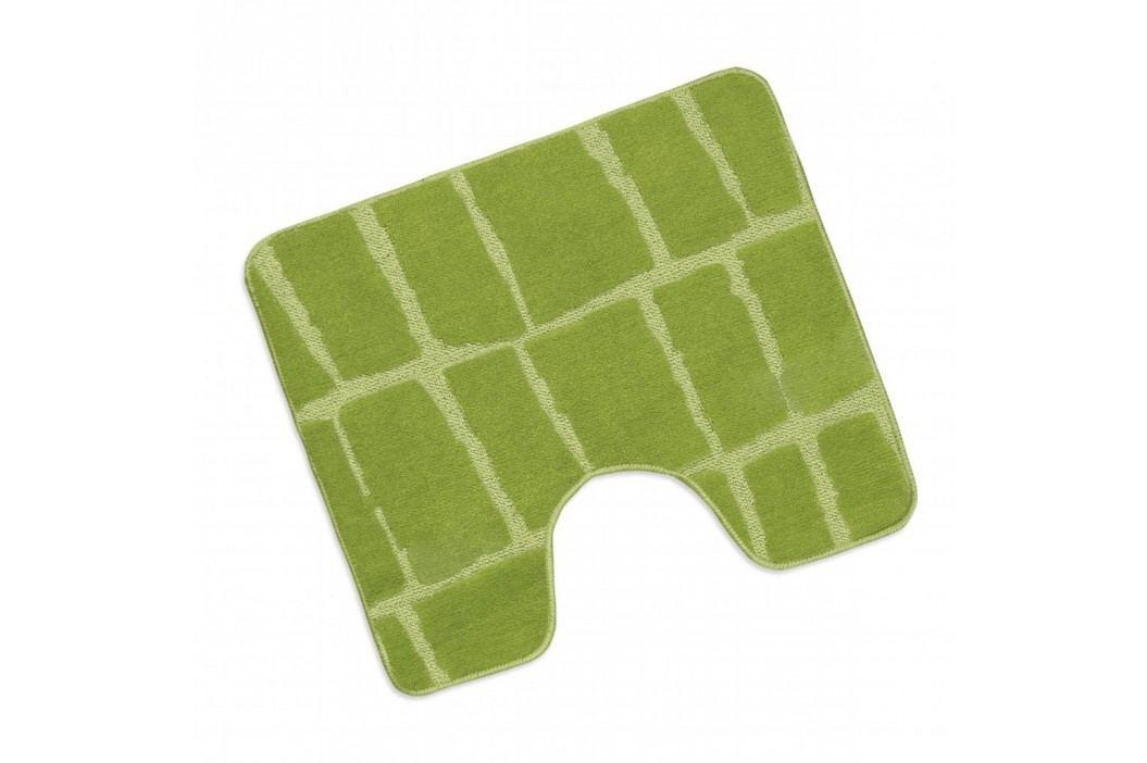 WC předložka 50x60cm zelená kostka