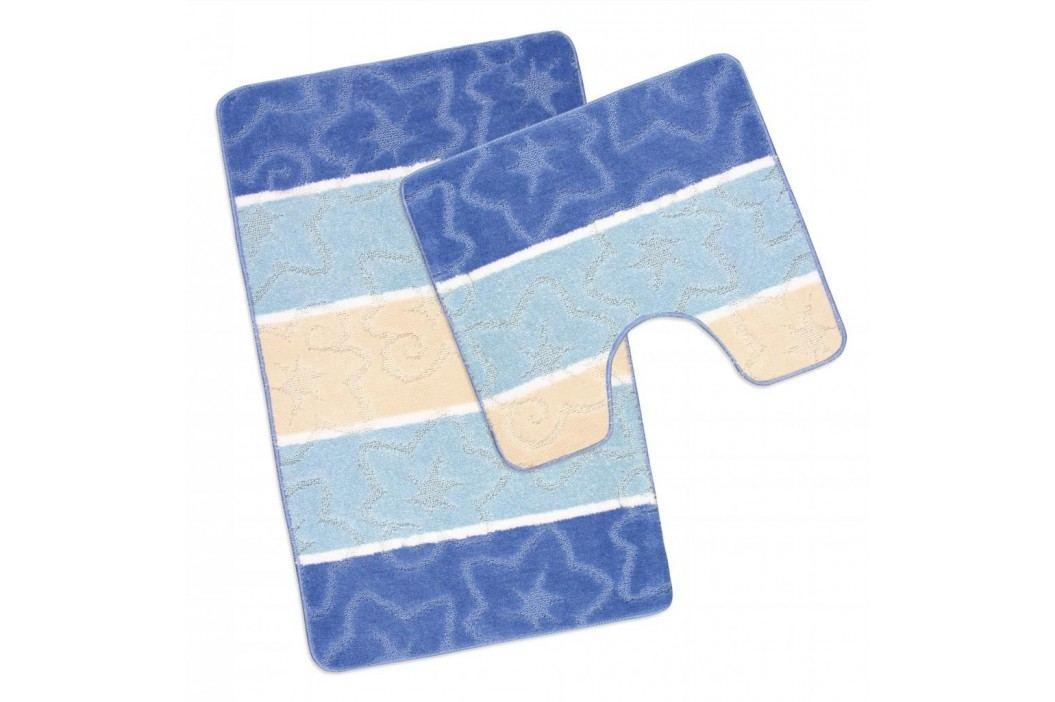 Koupelnová a WC předložka modrý orion