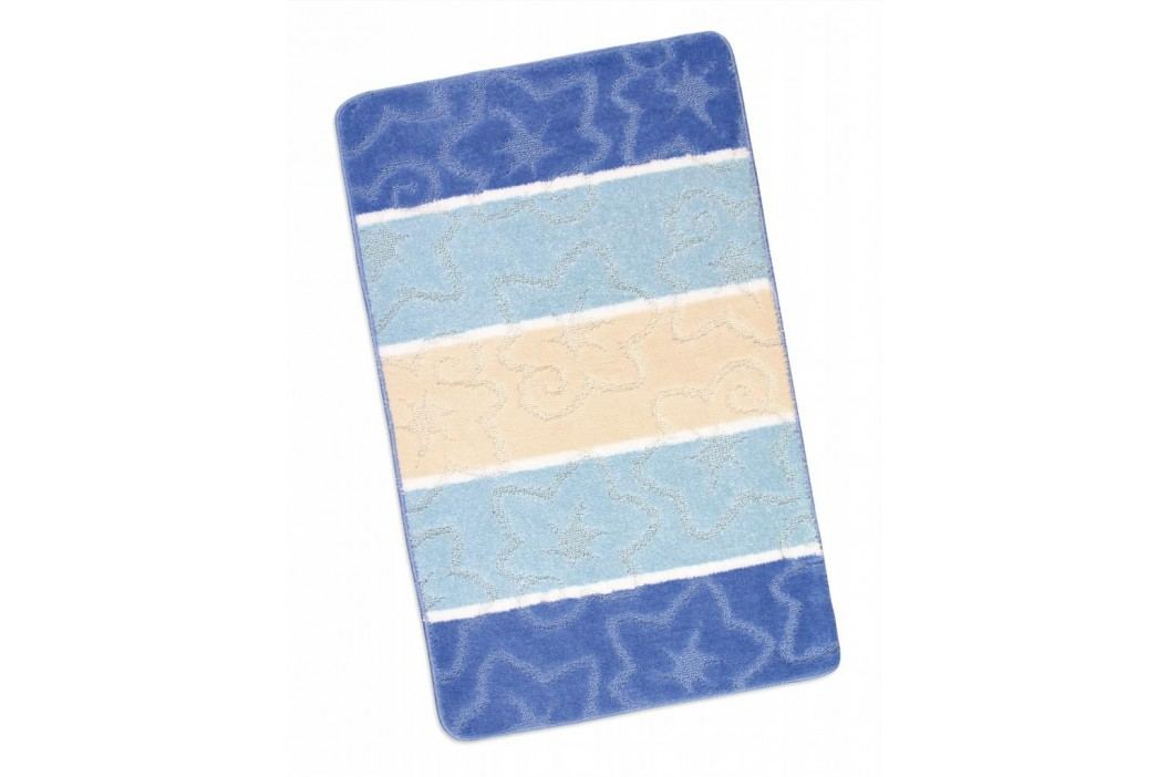 Koupelnová předložka 60x100cm modrý orion
