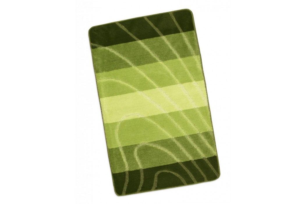 Koupelnová předložka před vanu 60x100cm zelená vlna